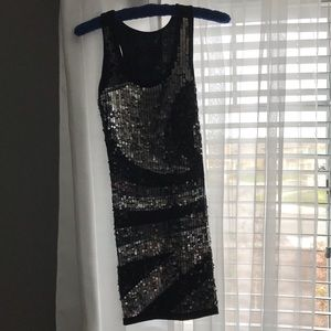 Dresses & Skirts - Sequin black dress